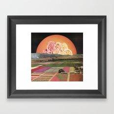 goofbutton collaboration #1a Framed Art Print