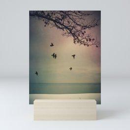 The Silence of the Frozen Mini Art Print