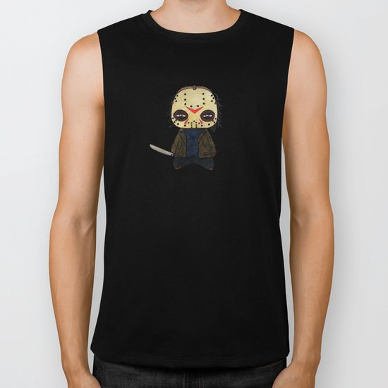 A Boy - Jason ( Friday the 13th) Biker Tank