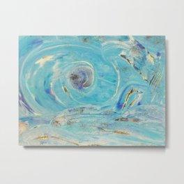 Innere Auge abstrakt Nr. 01 Metal Print