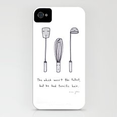 the whisk wasn't the tallest iPhone (4, 4s) Slim Case