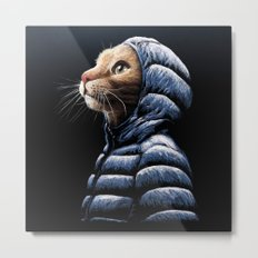 COOL CAT Metal Print