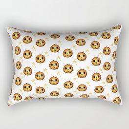 Boo Pumpkin Halloween Design Rectangular Pillow