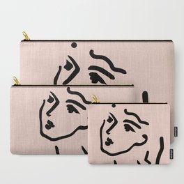 Lady Face Carry-All Pouch