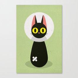 Bandage Cat Canvas Print