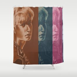 Shades | Chanyeol Shower Curtain