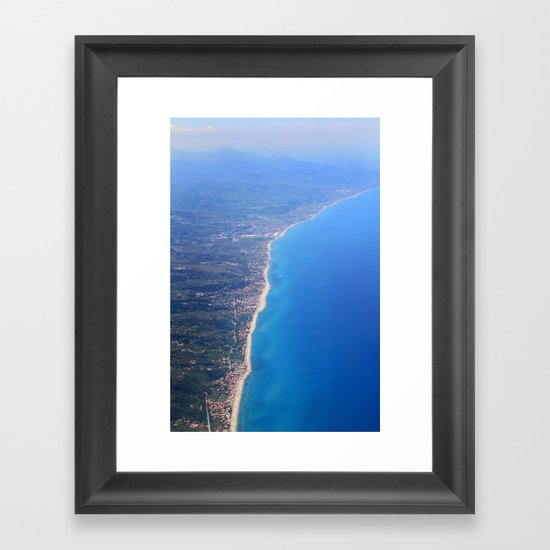 90 mile beach Framed Art Print