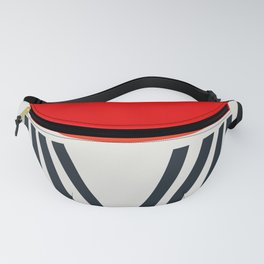 Red Lipstick Fanny Pack