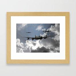 Lancaster Bomber Command Framed Art Print
