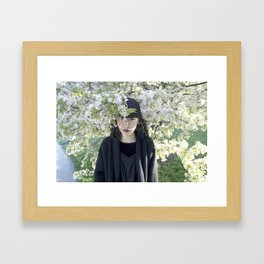 Smooth Romance Framed Art Print