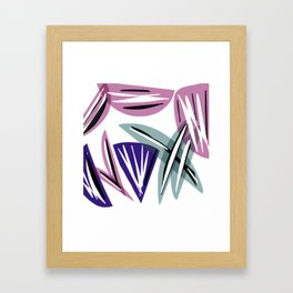 Wedges Block Party Framed Art Print