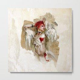 Emilie Autumn   Artwork Metal Print