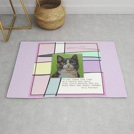 Cat Quote Rug