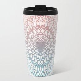 Pastels Mandala Travel Mug