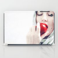 snow white iPad Cases featuring Snow White by elle moss