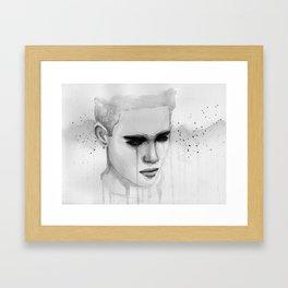 hurt lover Framed Art Print