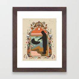 """Mandalorian"" by Cassidy Rae Marietta Framed Art Print"