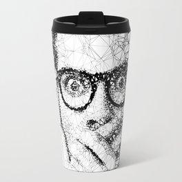 Geometric man Travel Mug
