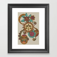 My sunshine Framed Art Print