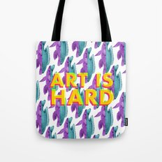 Art Is Hard - Fish Tote Bag