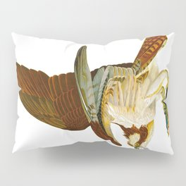Osprey Bird John James Audubon Vintage Scientific Bird illustration Pillow Sham