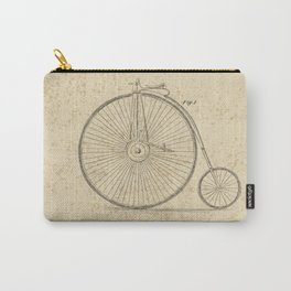 Penny Farthing Patent Carry-All Pouch