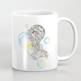 Kitten & bubbles Coffee Mug