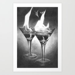 Hot Drink Art Print