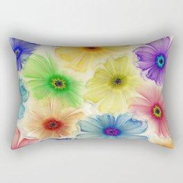 Flowers for Eternity Rectangular Pillow