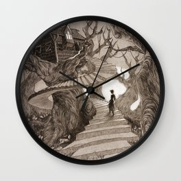 The Witch House Wall Clock