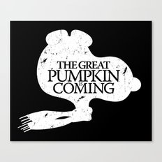 Game of Peanuts Canvas Print