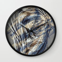 Ink mind Wall Clock