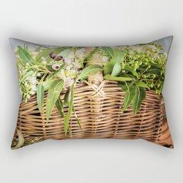 Gumblossom Basket Rectangular Pillow