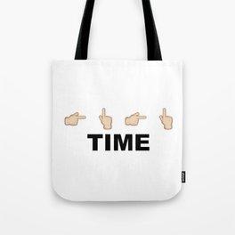 Limiter Time Tote Bag