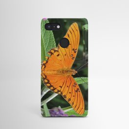 A Gulf Fritillary Shows Wear and Tear Android Case