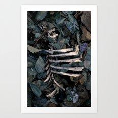 Lovely Bones. Art Print