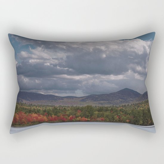 Autumn Mountains Rectangular Pillow