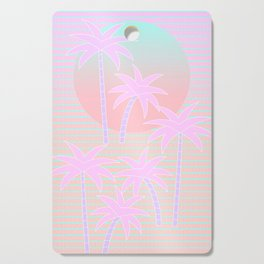 Hello Miami Sunrise Cutting Board