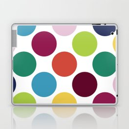 Colorful Dots Laptop & iPad Skin