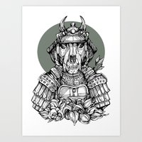 The Samurai Art Print