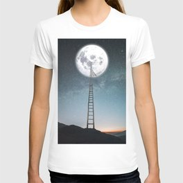 reach the moon T-shirt