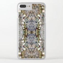 Crocodile kiss Clear iPhone Case