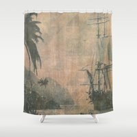 holiday Shower Curtains featuring Holiday by Last Call