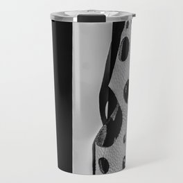 Holes And Stripes – Wallpaper And Leather Travel Mug