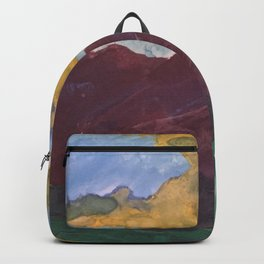 Watercolor me Mountains Backpack