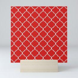 Quatrefoil - Candy Mini Art Print