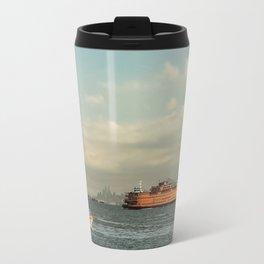 Coast Guard & Staten Ferry Travel Mug
