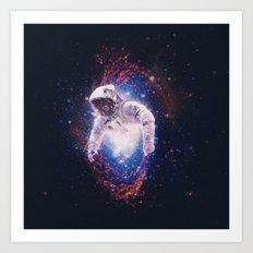 Between Dimensions Art Print