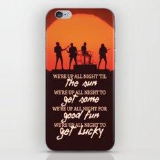 Get Lucky ; Daft Punk iPhone & iPod Skin