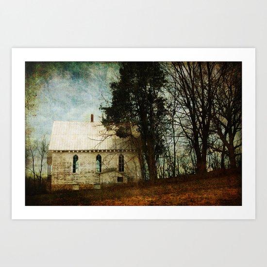 Abandoned Church Art Print